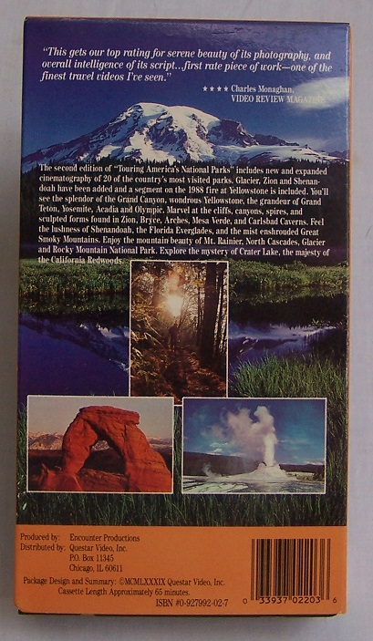 Image for Touring America's National Parks, Second Edition
