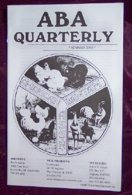 Image for ABA Quarterly, Summer 2001