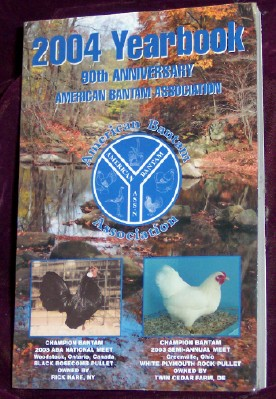 Image for American Bantam Association 2004 Yearbook, 90th Anniversary