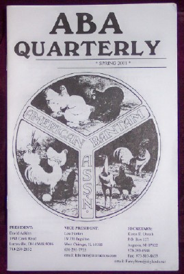 Image for ABA Quarterly, Spring 2001