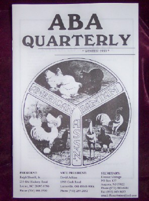 Image for ABA Quarterly, Winter 1999