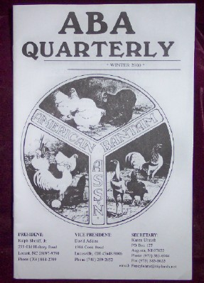 Image for ABA Quarterly, Winter 2000
