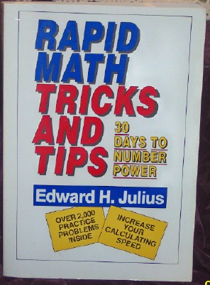 Image for Rapid Math: Tricks and Tips, 30 Days to Number Power