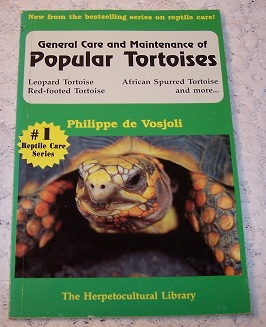 Image for General Care and Maintenance of Popular Tortoises