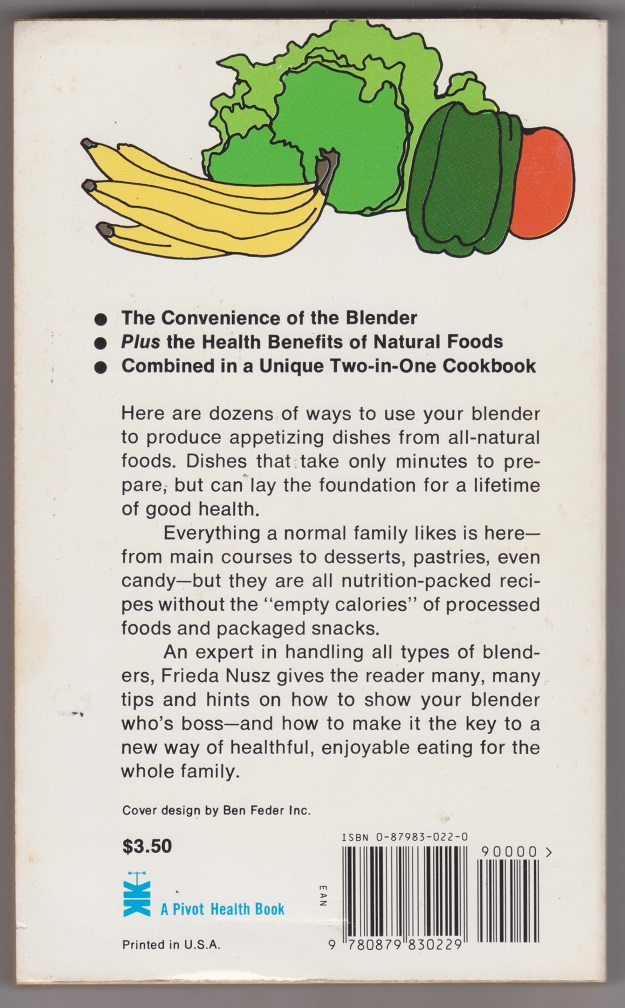 Image for The Natural Foods Blender Cookbook