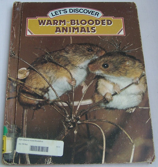 Image for Let's Discover Warm-Blooded Animals