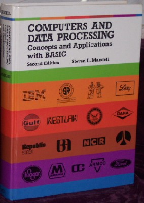 Image for Computers and Data Processing: Concepts and Applications, Second Edition, With Basic