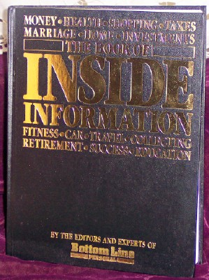 Image for The Book of Inside Information
