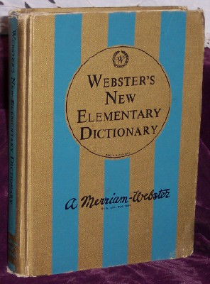 Image for Webster's New Elementary Dictionary