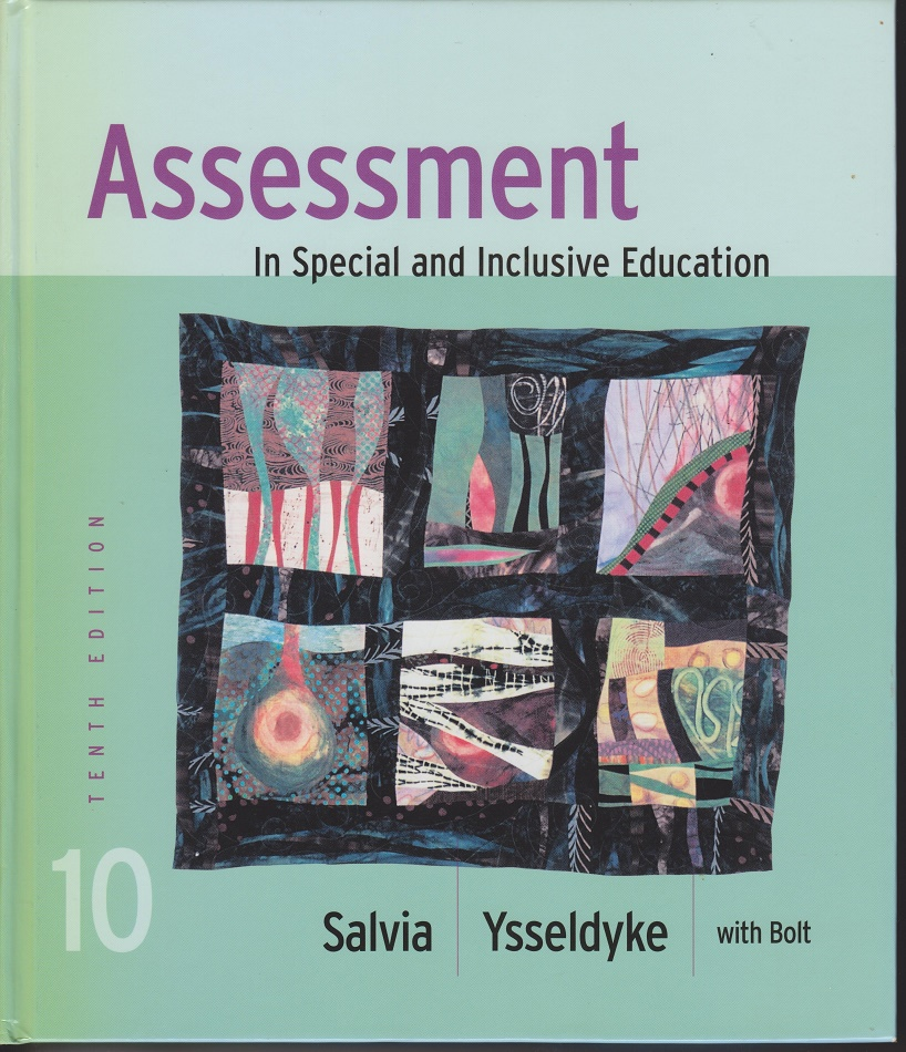 Image for Assessment In Special and Inclusive Education.