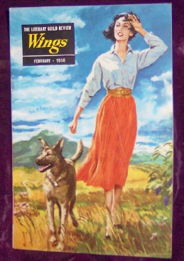 Image for The Literary Guild Review, WINGS, February 1956