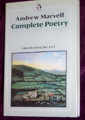 Image for Andrew Marvell, Complete Poetry