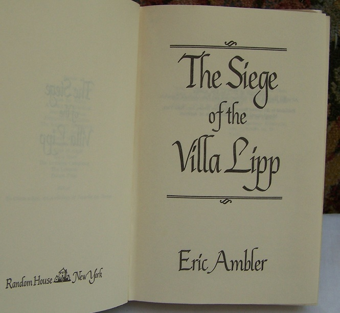Image for The Siege of the Villa Lipp