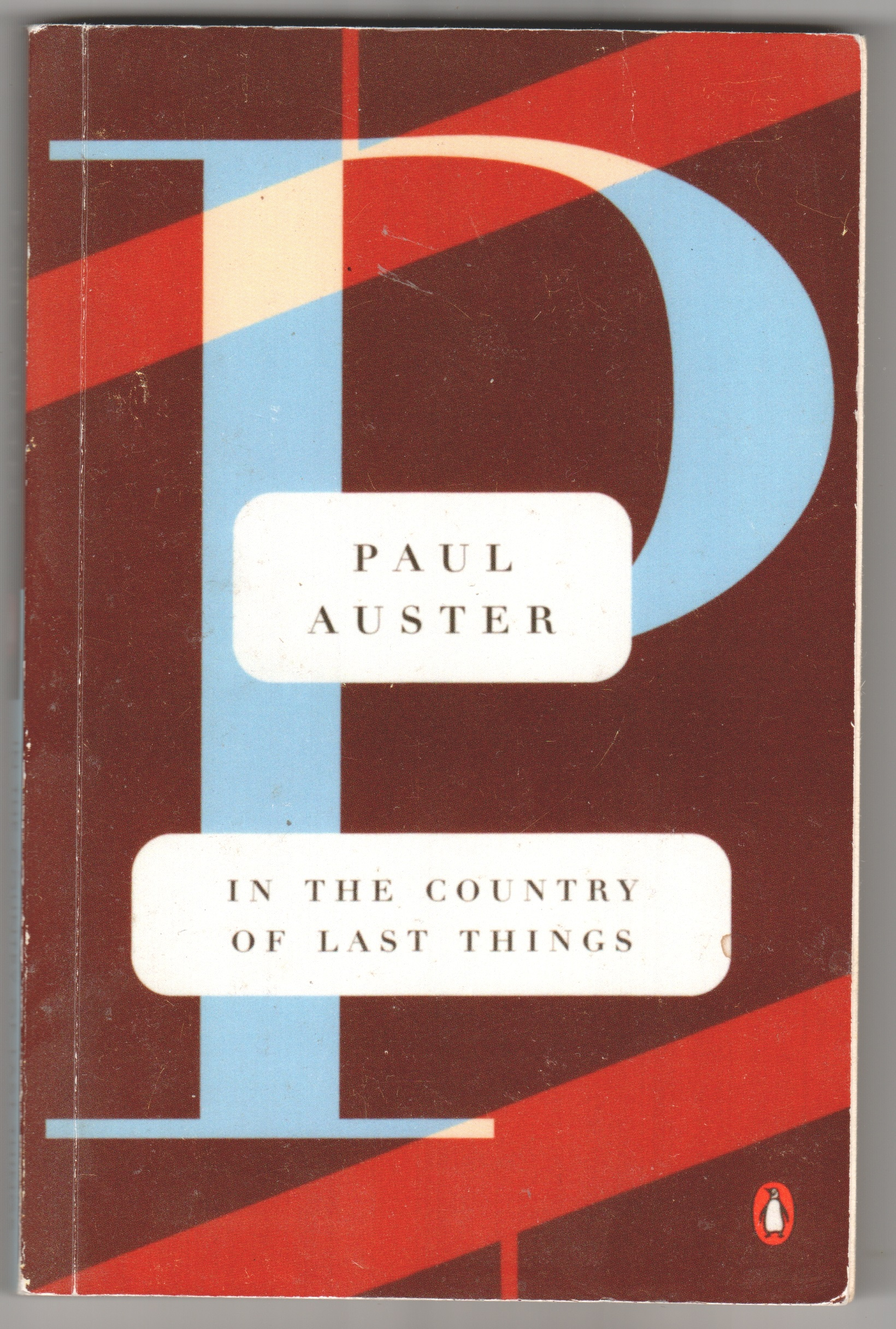 Image for In The Country Of Last Things