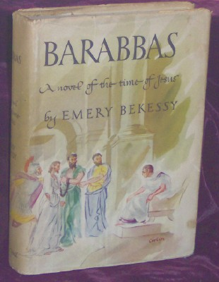 Image for BARABBAS: A NOVEL OF THE TIME OF JESUS