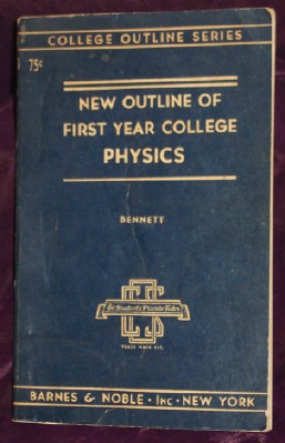 Image for New Outline Of College Physics