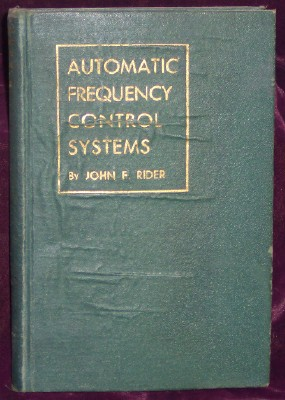 Image for Automatic Frequency Control Systems
