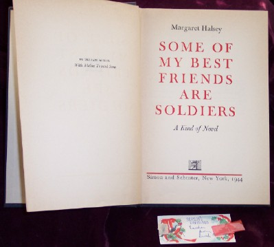 Image for Some of My Best Friends are Soldiers; A Kind of Novel