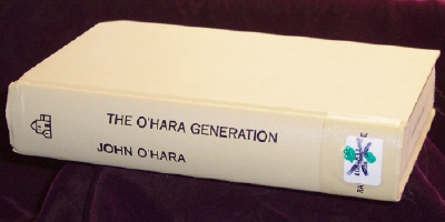 Image for The O'Hara generation