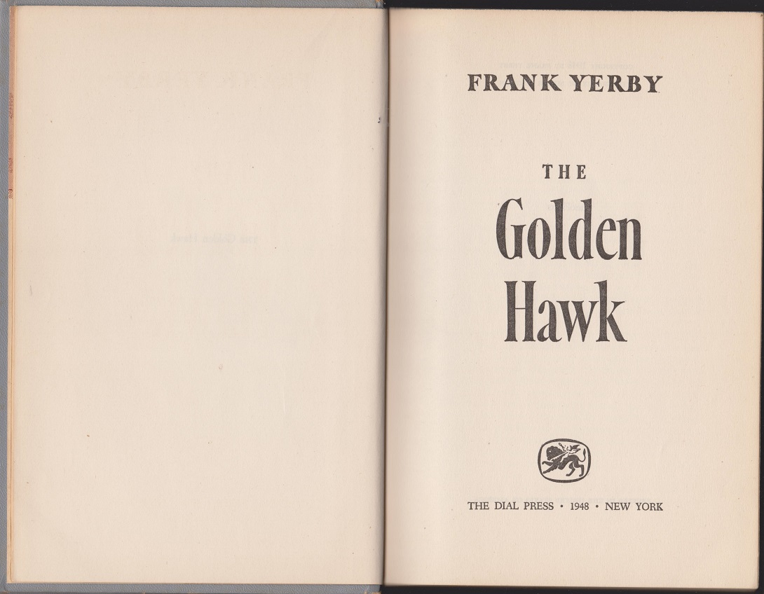 Image for The Golden Hawk