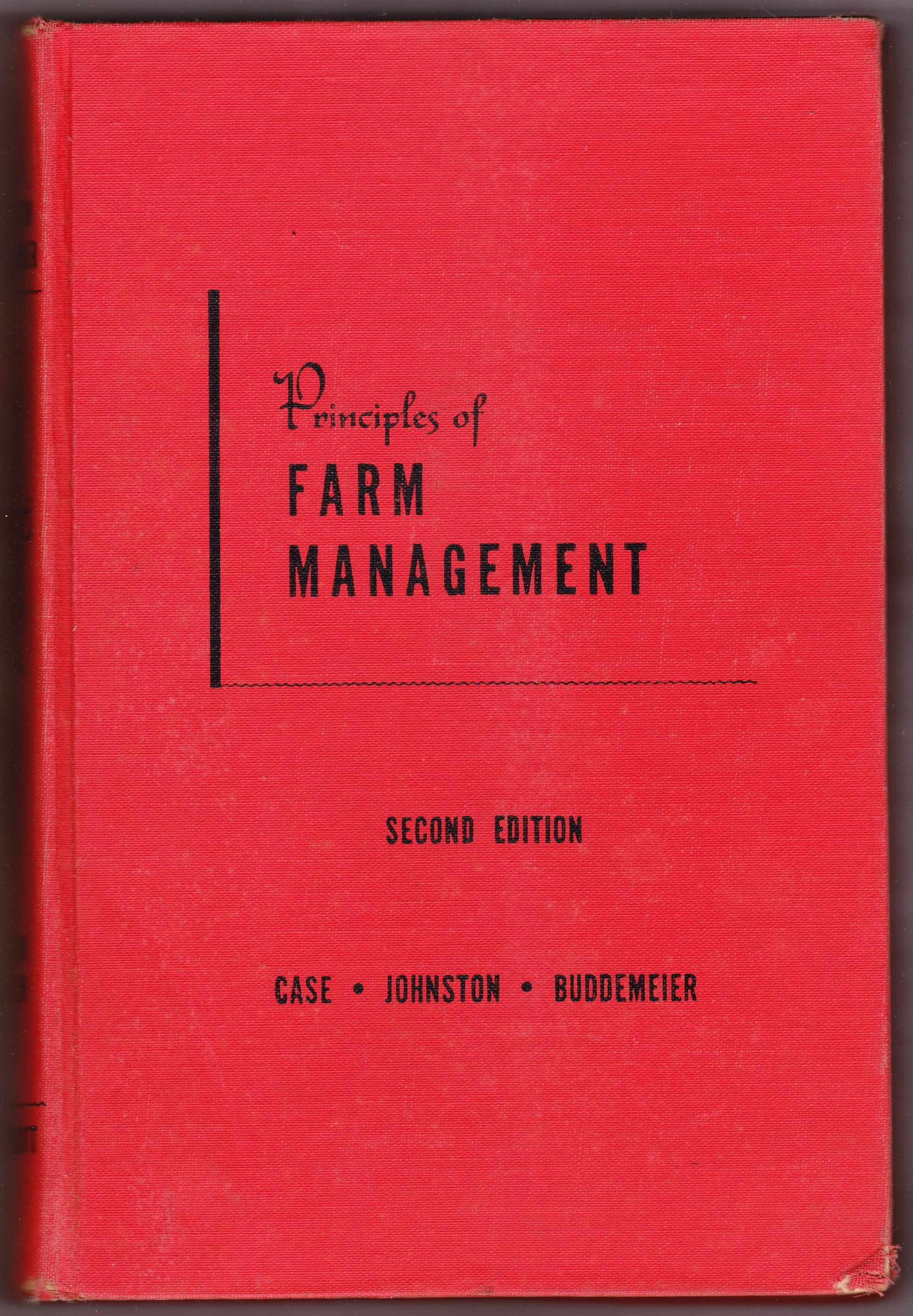 Image for Principles of Farm Management