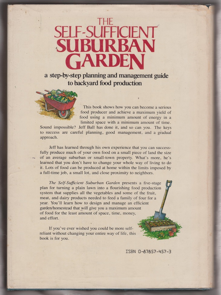Image for The Self-Sufficient Suburban Garden