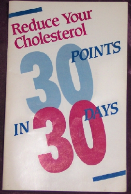 Image for Reduce Your Cholesterol 30 Points in 30 Days