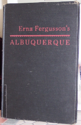 Image for Erna Fergusson's ALBUQUERQUE
