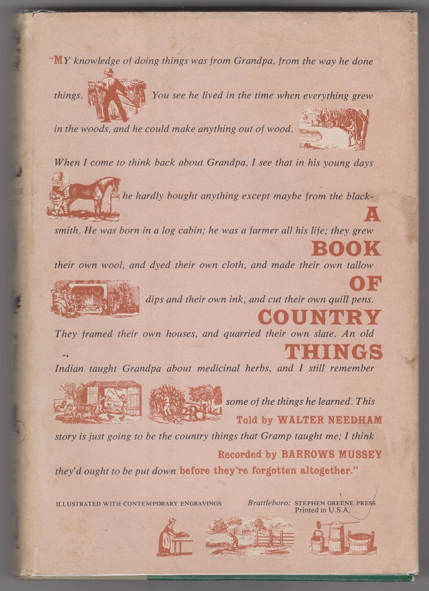 Image for A Book of Country Things