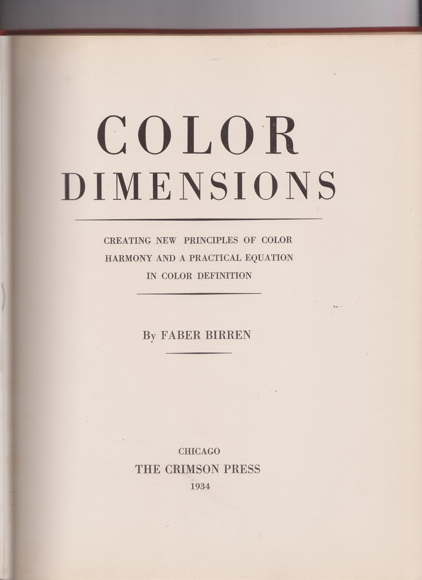 Image for Color Dimensions
