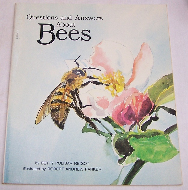 Image for Questions and Answers About Bees