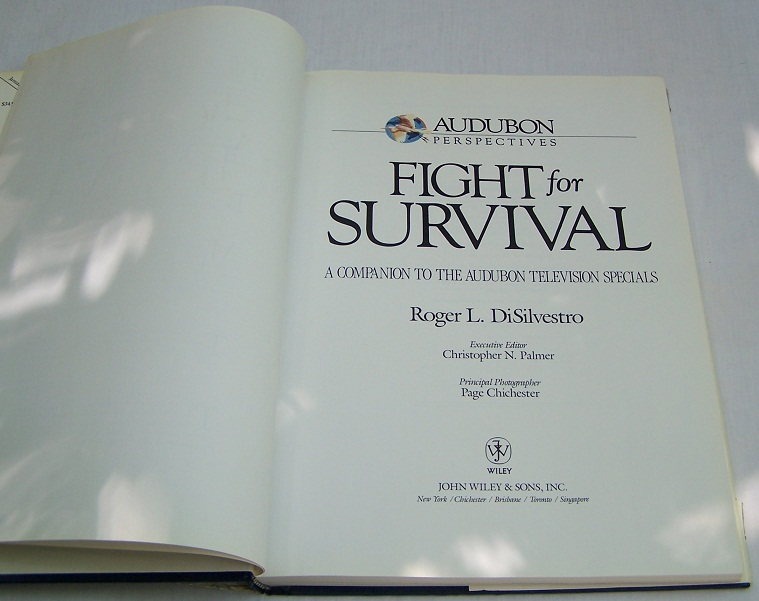 Image for Fight for Survival, A Companion to the Audubon Television Series