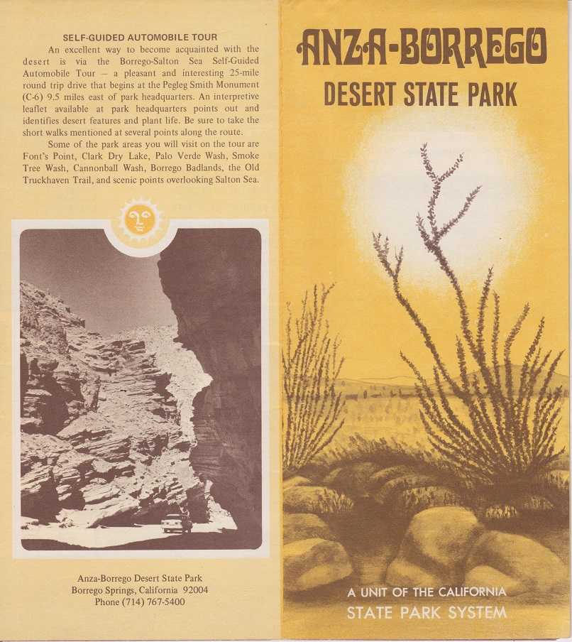 Image for Anza/Borrego Desert Guide Book, Second Enlarged Edition, Southern California's Last Frontier