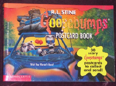 Image for The Goosebumps Postcard Book