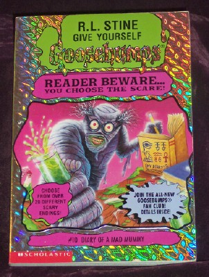 Image for Give Yourself Goosebumps #10: Diary of a Mad Mummy