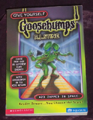 Image for Give Yourself Goosebumps #23: Zapped in Space