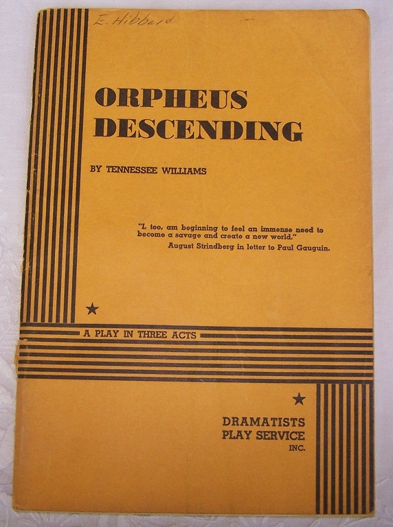 Image for Orpheus Descending
