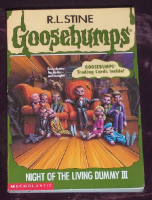 Image for Goosebumps # 40: Night of the Living Dummy III