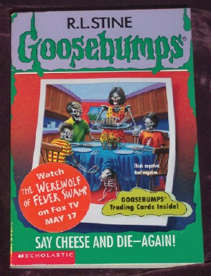 Image for Goosebumps #44Say Cheese and Die - Again