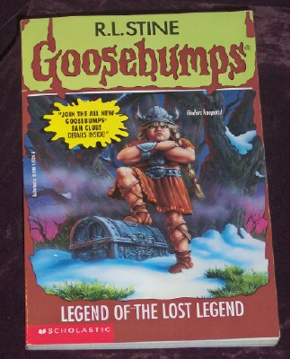 Image for Goosebumps #47: Legend Of The Lost Legend