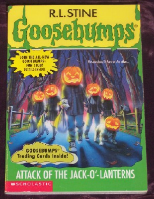 Image for Goosebumps #48: Attack of the Jack-O'-Lanterns