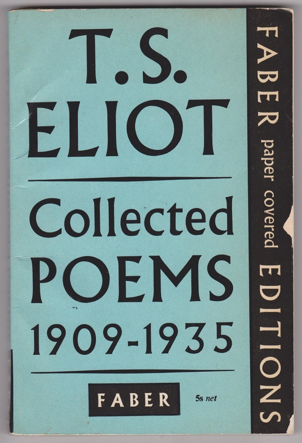 Image for T.S. Eliot Collected Poems 1909-1935