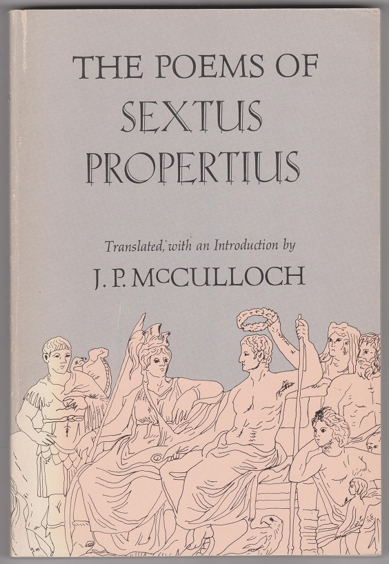 Image for The Poems of Sextus Propertius