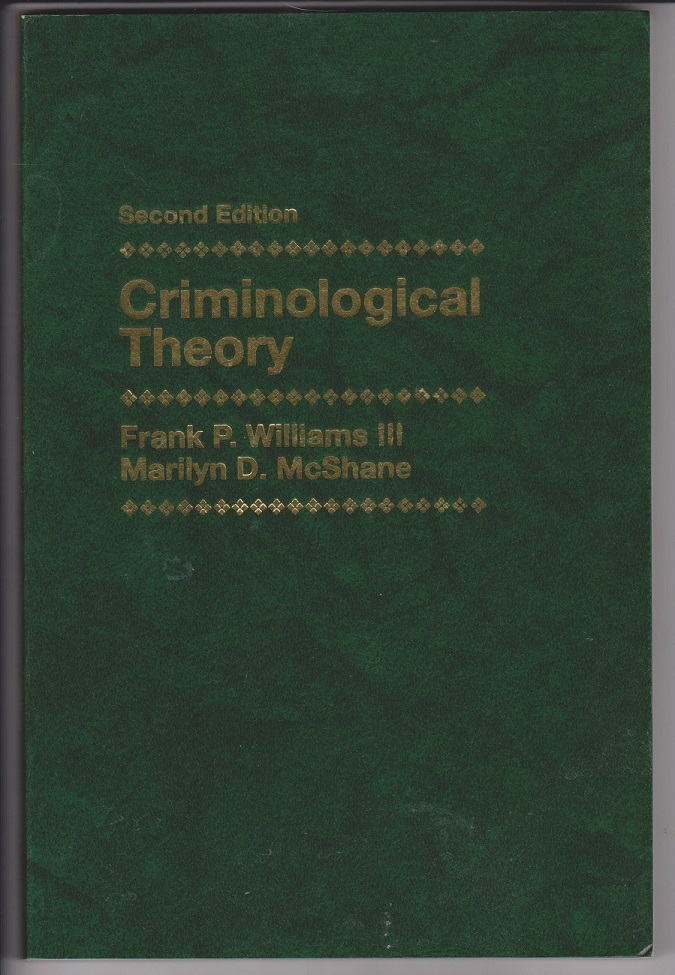 Image for Criminological Theory, Second Edition