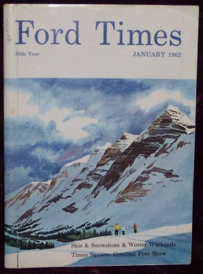 Image for Ford Times, Vol.55, No. 1, January, 1962