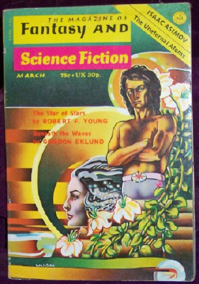 Image for Fantasy and Science Fiction, March 1974
