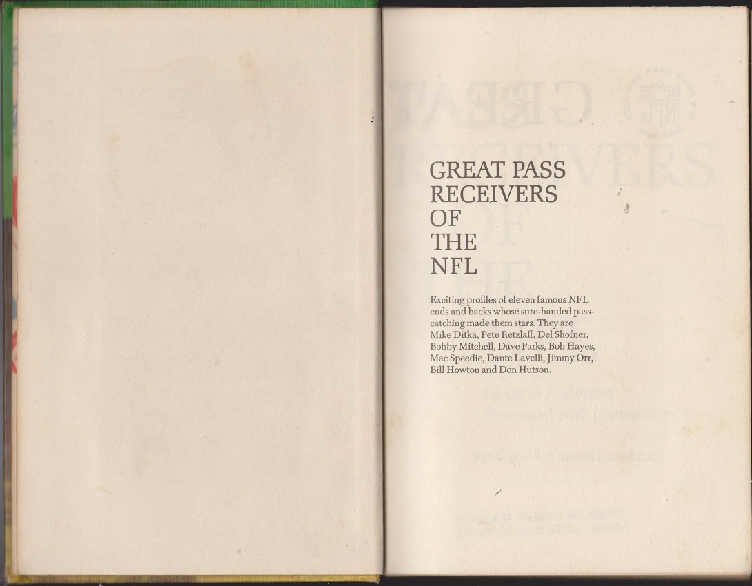 Image for Great Pass Receivers of the NFL
