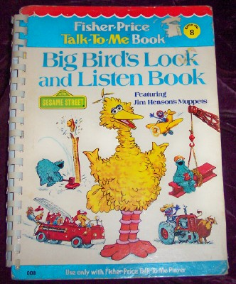 Image for Big Bird's Look and Listen Book, Book Number 8