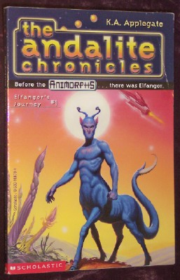 Image for Animorphs: Megamorphs #1: The Andalite's Gift, PART 1