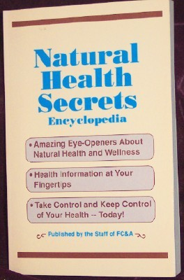 Image for Natural Health Secrets Encyclopedia